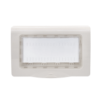 LECCE BOX FOR SUSPENDED MOUNTING 4MOD IP65