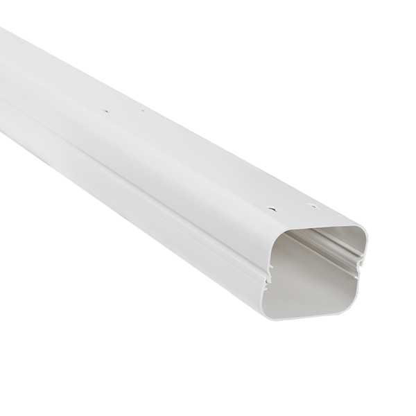 2m AIR CONDITIONING- PLASTIC TRUNKING  75X60mm