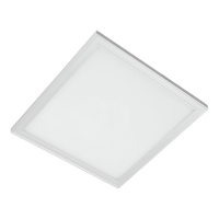 LED PANEL SQUARE  45W WHITE 595MM/595MM,WHITE FRAME