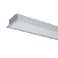 HIGH POWER LED PROFILE RECESSED S48 50W 4000K GREY