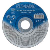 CUTTING DISK FOR METAL 125x1.0x22.2mm