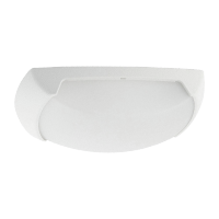 FRANCY-OP WALL FIXTURE E27 IP66 WHITE