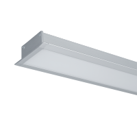 LED PROFILES RECESSED MOUNTING S77 64W 4000K 1500MM GREY